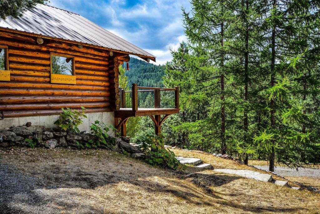 Log Cabin Refinishing
